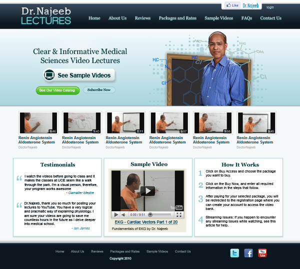 Dr Najeeb Lectures Download